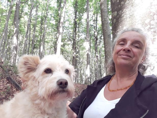 foto di Silvia a Camaldoli con Miralola